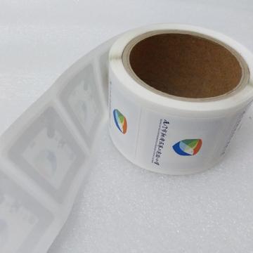 Contactlessa RFID smart metro coin tickert/coin smart card munufacturersstickers deco