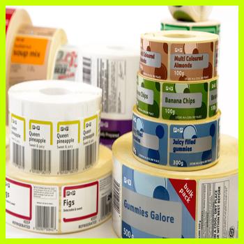 Label sticker custom design high quality printing